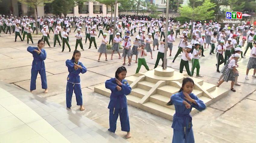 Võ Việt Nam góp phần nâng tầm thể thao học đường