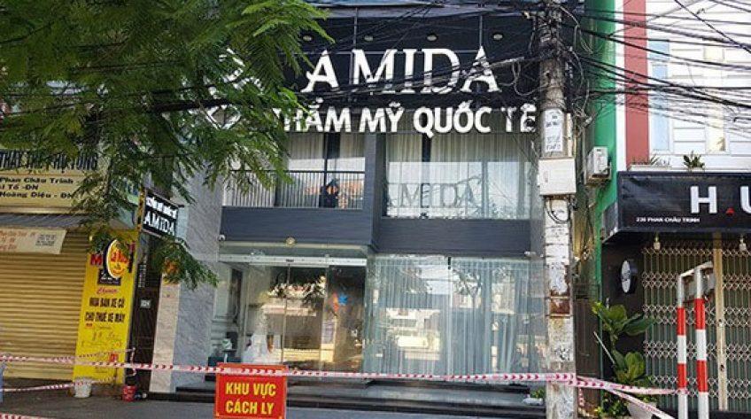 Khởi tố vụ án Thẩm mỹ viện Amida vi phạm phòng, chống dịch Covid-19